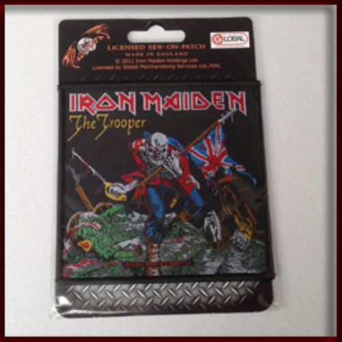 IRON MAIDEN 官方进口原版 The Trooper (Woven Patch)
