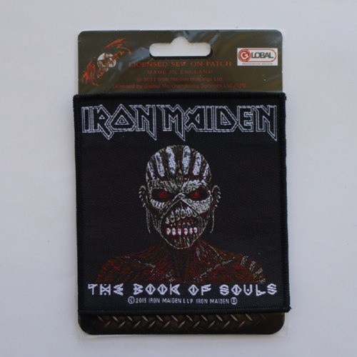 IRON MAIDEN 官方进口原版 Book of Souls (Woven Patch)