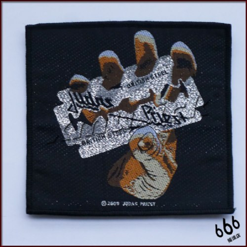 JUDAS PRIEST 官方进口原版 British Steel (Woven Patch)