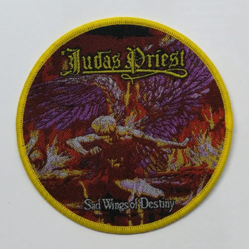 JUDAS PRIEST 官方进口原版 Sad Wings of Destiny (Woven Patch)