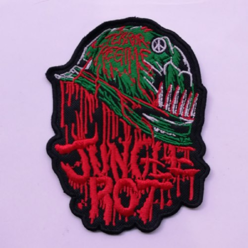 JUNGLE ROT - Logo  (Embroidered Patch)