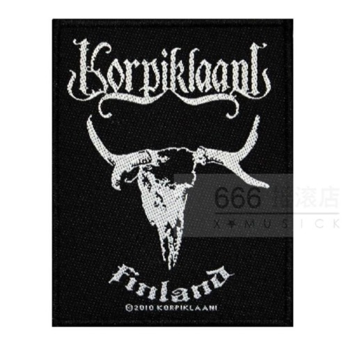 KORPIKLAANI 官方进口原版 Finland (Woven Patch)