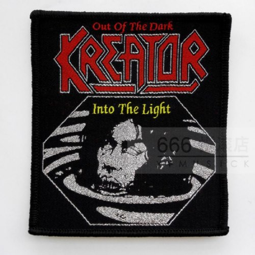 KREATOR 官方进口原版 Out Of The Dark (Woven Patch)