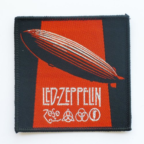 LED ZEPPELIN 银色进口原版 Led Zeppelin (Woven Patch)
