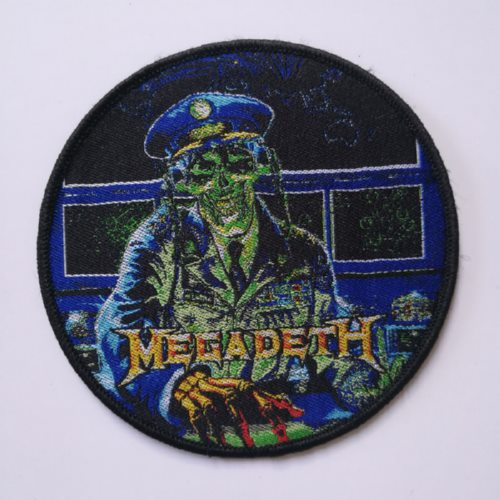 MEGADETH 美国原版进口 Commonder (Woven Patch)