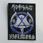 MIDNIGHT - Violators (Embroidered Patch)