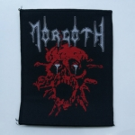 MORGOTH 官方进口原版 Ressurection 黑边 (Woven Patch)
