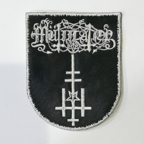 MUTIILATION - Logo (Embroidered Patch)
