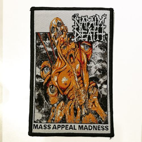 NAPALM DEATH 美国原版进口 Mass Appeal Madness (Woven Patch)