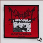 MAYHEM 官方进口原版 Deathcrush (Woven Patch)