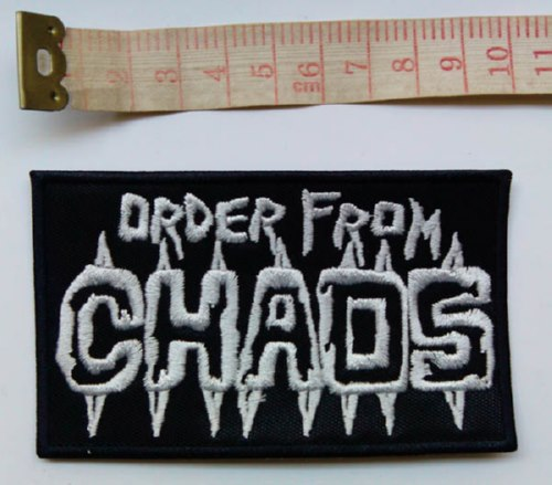 ORDER FROM CHAOS - Logo (Embroidered Patch)