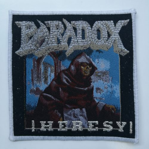 PARADOX 官方进口原版 Heresy 白边 (Woven Patch)
