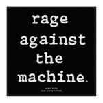 RAGE AGAINST THE MACHINE 官方进口原版 Logo (Woven Patch)