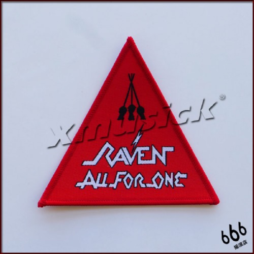 RAVEN 进口原版 All For One (Woven Patch)