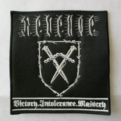REVENGE - Victory.Intolerance.Mastery (Embroidered Patch)