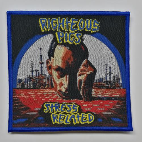 RIGHTEOUS PIGS 进口官方原版 Stress Related (Woven Patch)