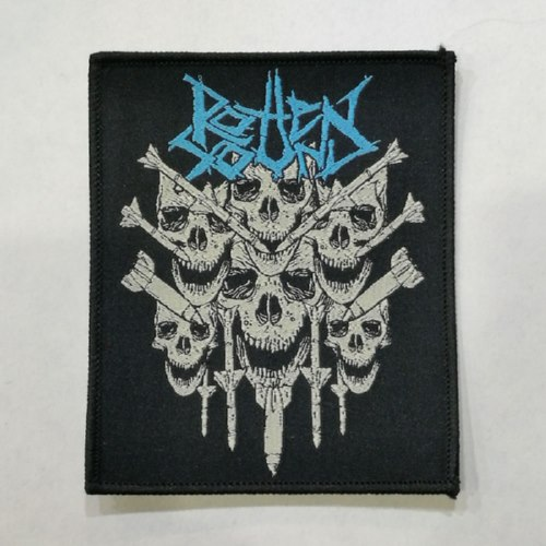 ROTTEN SOUND 美国进口原版 Nuclear War (Woven Patch)