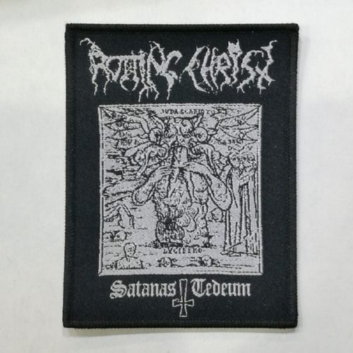 ROTTING CHRIST 美国进口原版 Satanas Tedeum (Woven Patch)