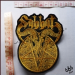SABBAT - Disembody Golden (Embroidered Patch)