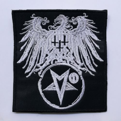 SATANIC WARMASTER - Eagle Star (Embroidered Patch)