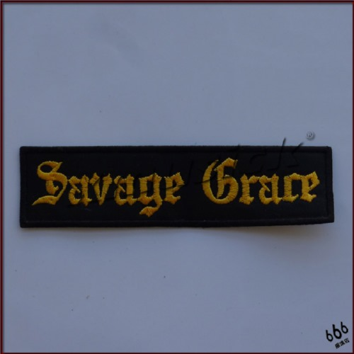 SAVAGE GRACE - Logo (Embroidered Patch)