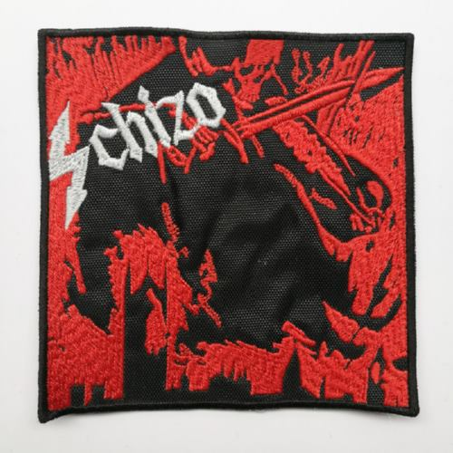 SCHIZO - Main Frame Collapse (Embroidered Patch)
