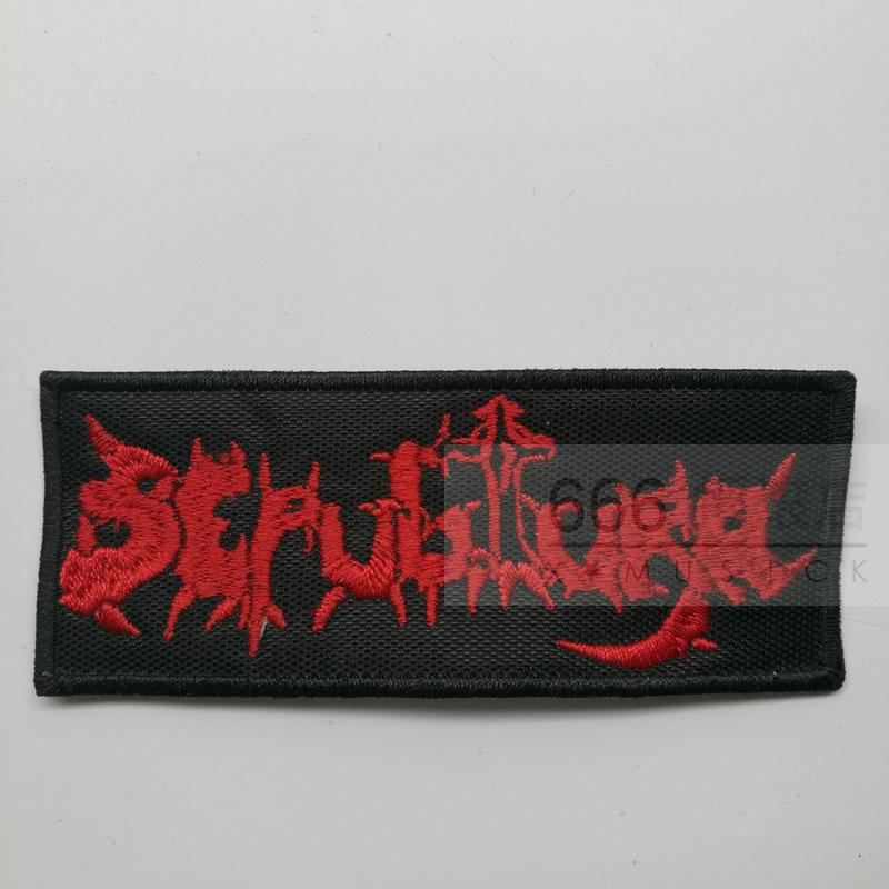 SEPULTURA - Old Logo 1 (Embroidered Patch)