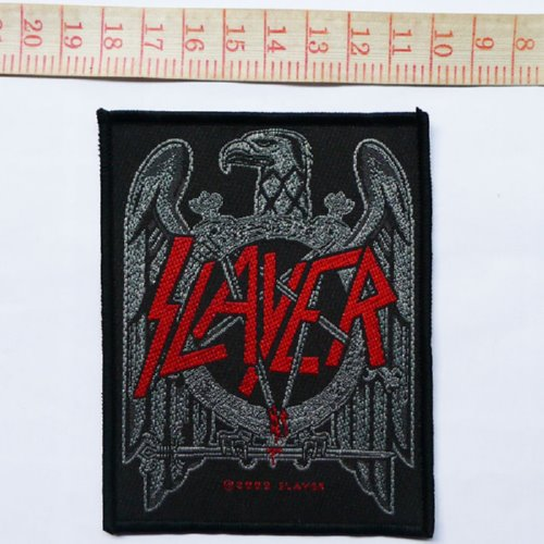 SLAYER 官方进口原版 Black Hawk (Woven Patch)