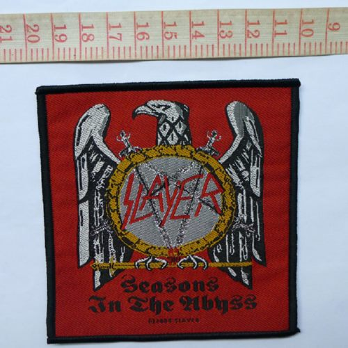 SLAYER 官方进口原版 Seasons In The Abyss (Woven Patch)