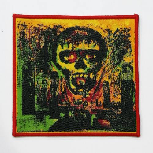 SLAYER 美国进口原版 Season In The Abyss Album Cover 红边 (Woven Patch)