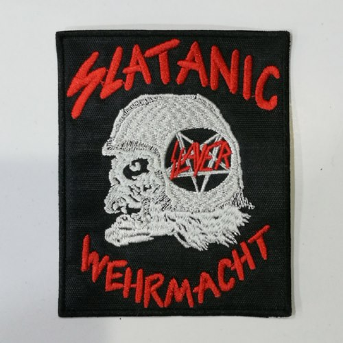 SLAYER - Slatanic Wehrmacht (Embroidered Patch)