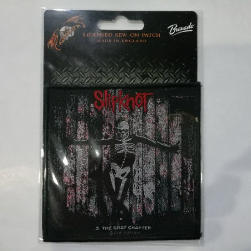 SLIPKNOT 官方进口原版 5: The Gray Chapter (Woven Patch)