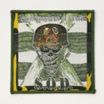 S.O.D. 官方进口原版 Speak English Or Die (Woven Patch)