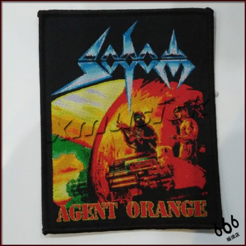 SODOM 美国进口原版 Agent Orange (Woven Patch)