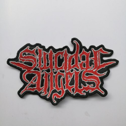 SUICIDAL ANGELS - Logo 异形 (Embroidered Patch)
