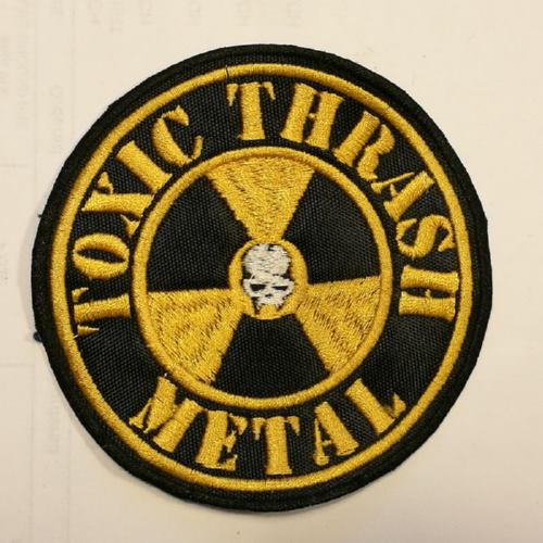 TOXIC HOLOCAUST - Toxic Thrash Metal Nuclear (Embroidered Patch)