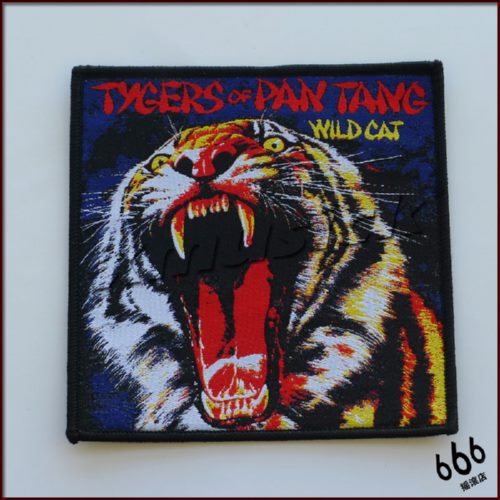 TYGERS OF PAN TANG 进口原版 Wild Cat (Woven Patch)