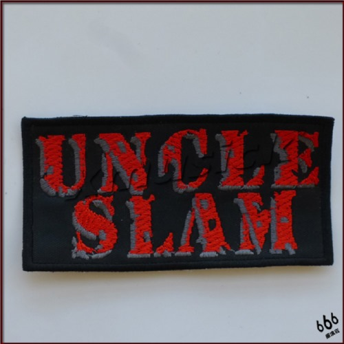 UNCLE SLAM - Logo (Embroidered Patch)