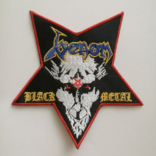VENOM - Black Metal Pentagram 异形 (Embroidered Patch)
