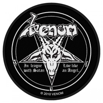 VENOM 官方进口原版 In League with Satan (Woven Patch)