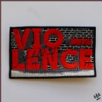 VIO-LENCE - Logo (Embroidered Patch)