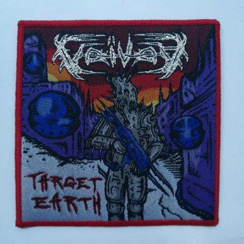 VOIVOD 官方进口原版 Target Earth (Woven Patch)