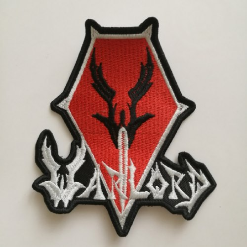 WARLORD - Logo 异形 (Embroidered Patch)