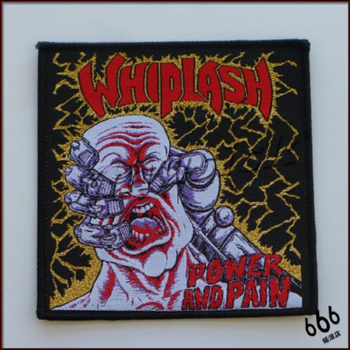 WHIPLASH 官方进口原版 Power and Pain (Woven Patch)