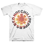 RED HOT CHILI PEPPERS 官方进口原版 Logo (TS-M)白色