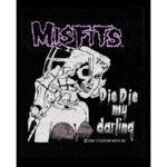 MISFITS 官方进口原版 Die Die My Darling  (Woven Patch)