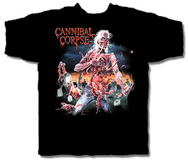 CANNIBAL CORPSE 官方发行 Eaten Back to Life (TS-M)