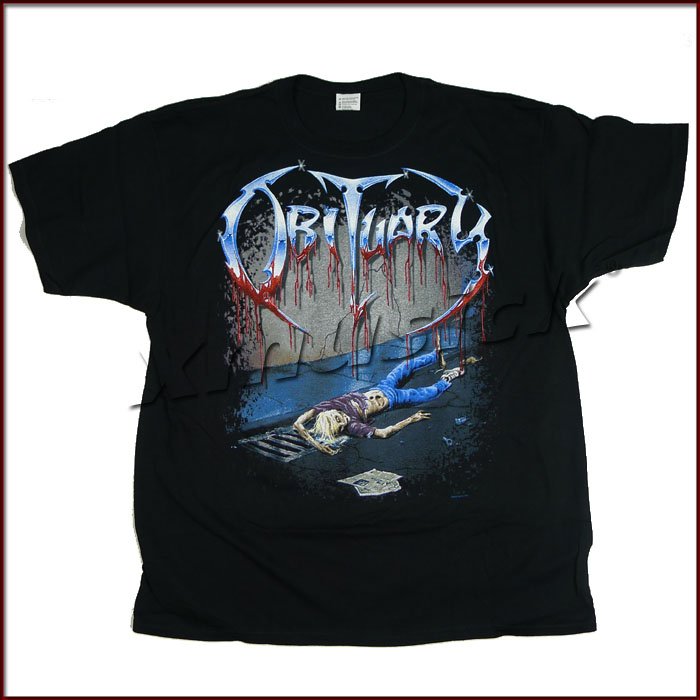 OBITUARY 最新正版官方出品 Slowly We Rot (TS-L)
