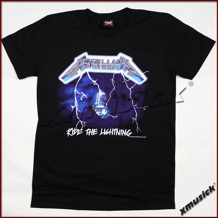 METALLICA - Ride The Lightning (TS-L) TTH1705