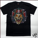 SLAYER - Iron Cross Skull (TS-L) TTH1602